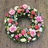 Wreath - Pink - Flowers for a Funeral