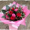 red rose bouquet florist